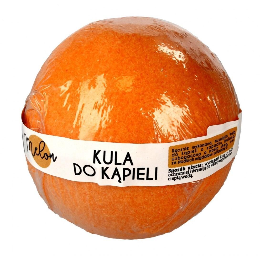 LAQ LaQ Kula musująca do kąpieli Melon - pomarańczowa 100g