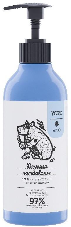 YOPE Wood, Żel pod prysznic drzewo sandałowe, szaf 800-004853