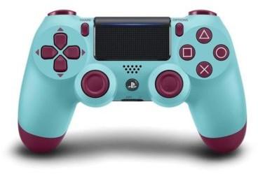 Sony INTERACTIVE ENTERTAINMENT Kontroler bezprzewodowy PlayStation DUALSHOCK 4 v2 Jagodowy Błękit Black Friday! PRAWDZIWY! Od 22.11 do 25.11 ! PlayStation DUALSHOCK 4 v2 Jagodowy Błękit