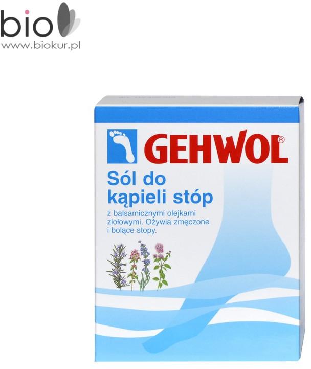 Gehwol Sól do kąpieli stóp z lawendą 250 g 1024910
