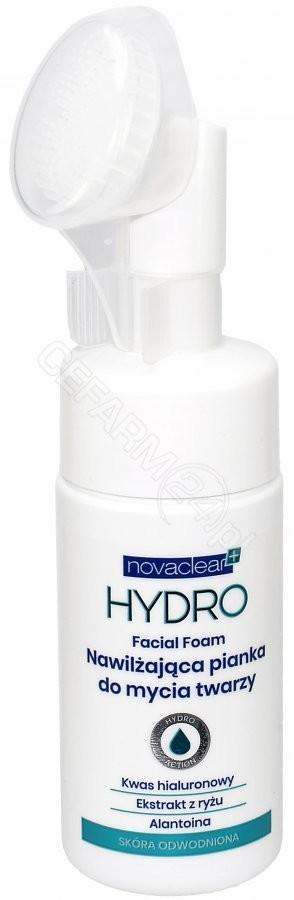 EQUALAN Novaclear+ Hydro nawilżająca pianka do mycia twarzy 100 ml