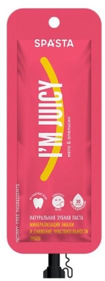 Spasta Spasta IM JUICY Naturalna pasta do zębów bez fluoru 30ml