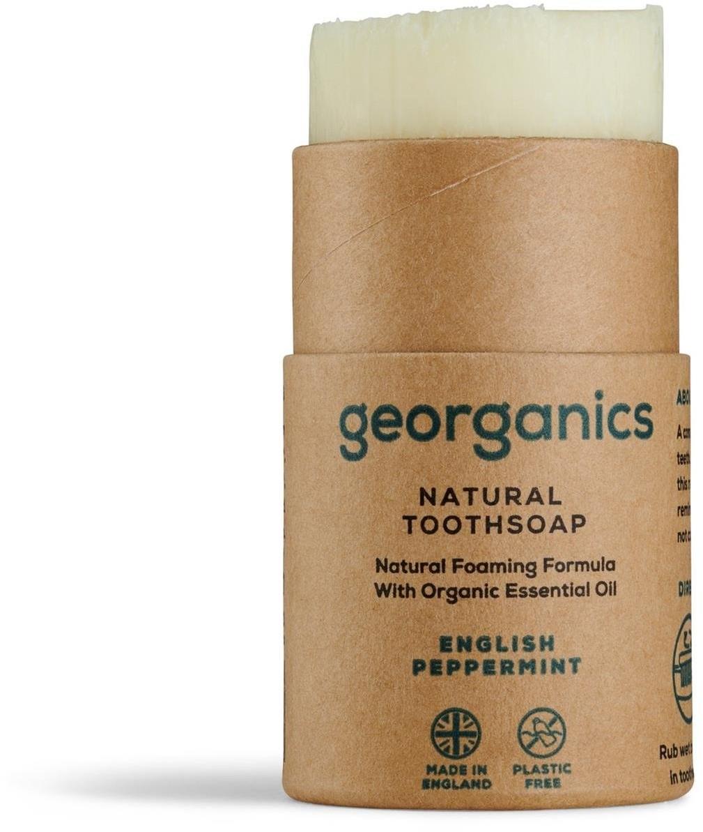 GEORGANICS Georganics, Mydło do czyszczenia zębów, English Peppermint, 60 ml