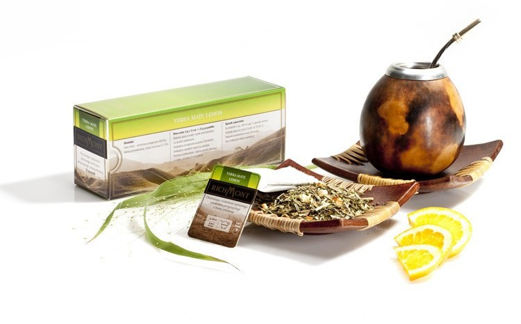Richmont Herbata Yerba Mate Lemon saszetka Yerba Mate Lemon 1szt