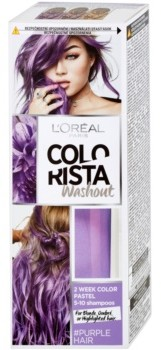 Loreal Paris Paris Colorista Washout zmywalna farba do włosów odcień Purple 80 ml