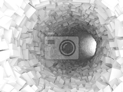 evannovostro Fototapeta 3d na podłogę nowoczesny, tło, streszczenie, pusty, projekt