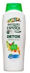 Instituto Espanol Detox, oczyszczający żel pod prysznic, 1250 ml