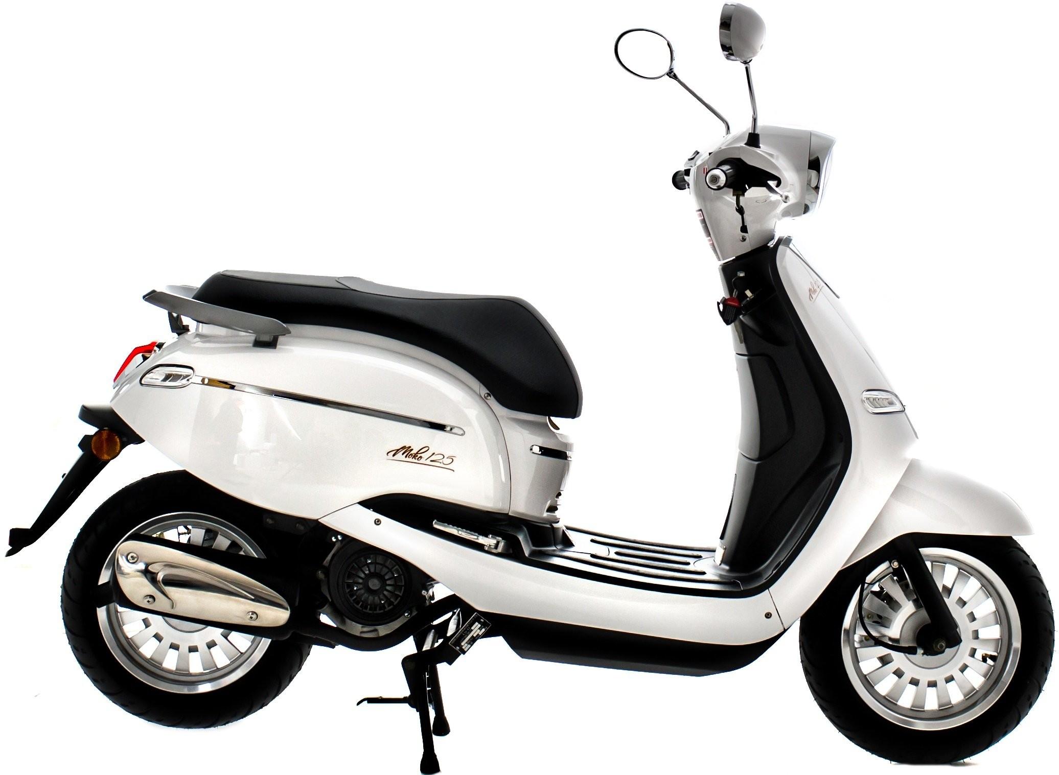 Torq Motocykl Moko 125 Biały MOKO125