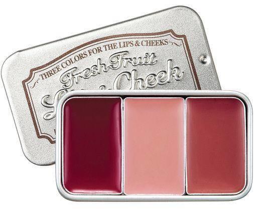 SKINFOOD Fresh Fruit Lip & Cheek koloryzujący tint do ust i policzków 6 3x2.5g