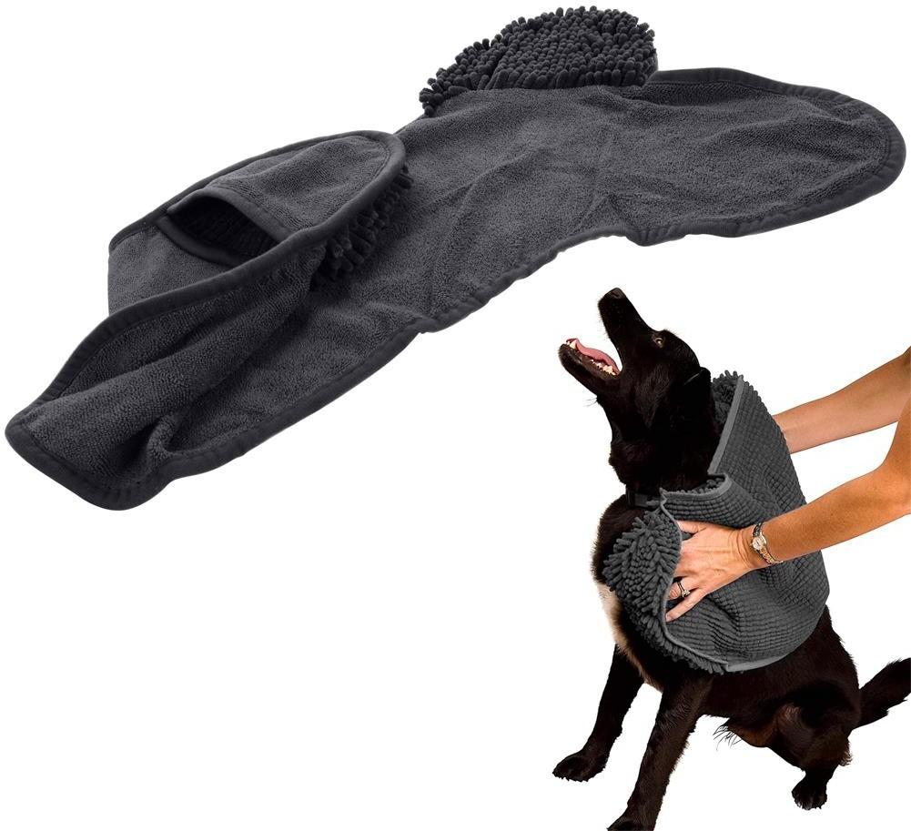 DOGS Collection Ręcznik z mikrofibry do wycierania suszenia psa 76 x 41 cm 860237