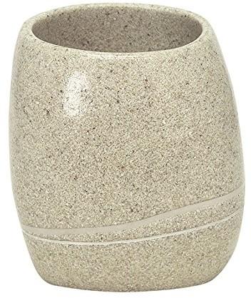 Kleine Wolke 5080226852kubek na szczoteczki do zębów Stones, akcesoriów, Piaskowy 5080226852