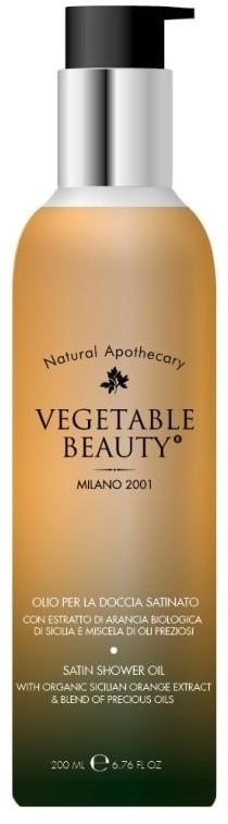 Vegetable Beauty Vegetable Beauty Pielęgnacja ciała Satynowy Olejek do mycia 200 ml