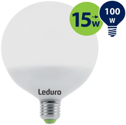 Leduro com Żarówka LED GLOBE 15W 1200lm 360 E27 2700K 21197