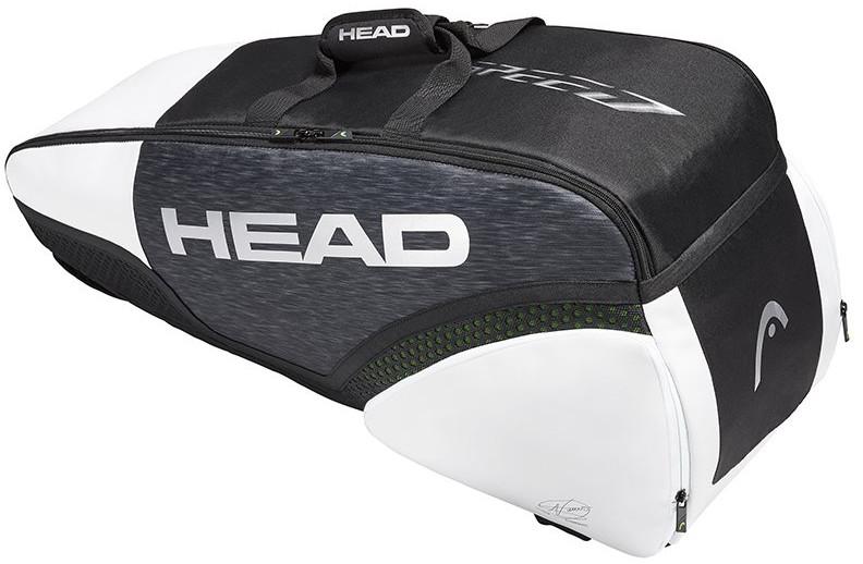 Head Djokovic 6R Combi Black White 283029 BKWH