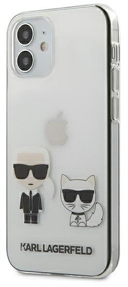 "Karl Lagerfeld KLHCP12SCKTR iPhone 12 5,4"" hardcase Transparent Karl & Choupette"