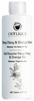 Essential Care Odylique Odylique by organiczny nawilżający kremowy żel do mycia ciała z aloesem, oliwą i Ylang Ylang i Pomarańczą 200ml