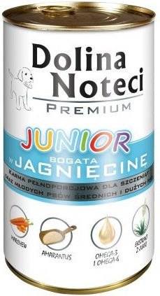 Dolina Noteci Premium Pies Junior Jagnięcina puszka 400g