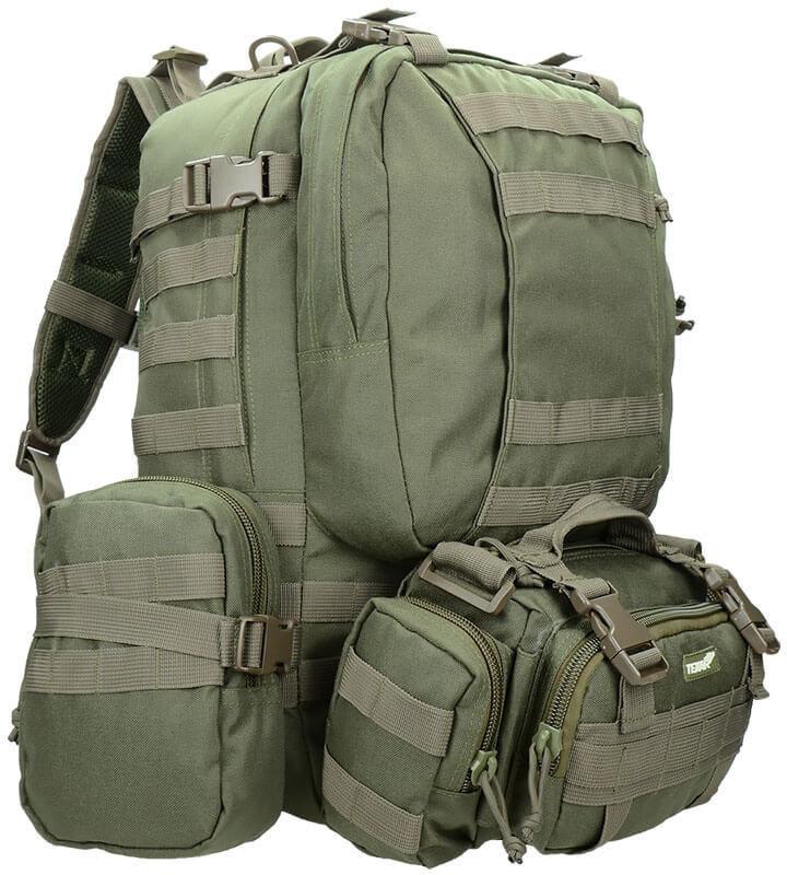 Texar Plecak Taktyczny Camper 60L Olive 38-CAM-BP-OG