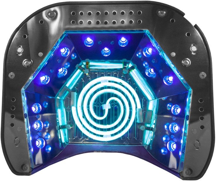 ACTIVESHOP Lampa Professional 2w1 Uv Led+Ccfl 48w Timer+Sensor Fioletowa 10003_117979