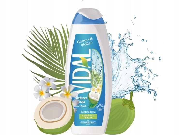 Vidal Woda kokosowa i Monoi żel pod prysznic