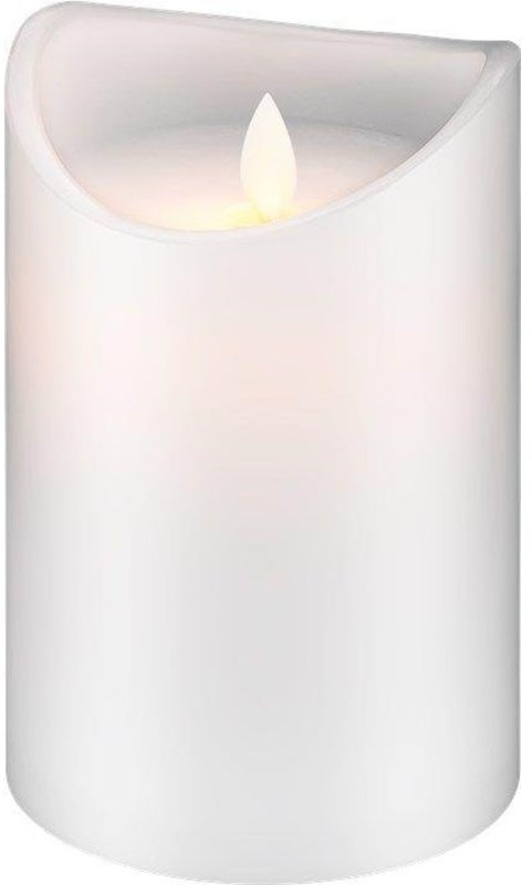 Pro Pro LED white real wax candle 10 x 15cm 4040849665219