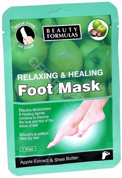 BEAUTY FORMULAS Beauty formulas maska na stopy skarpetki 1 para