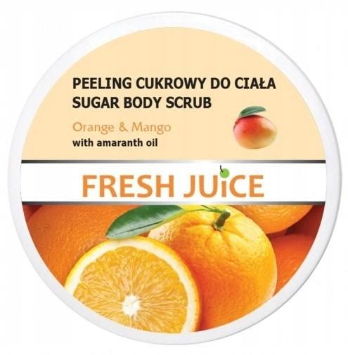 Fresh Juice Peeling Cukrowy Orange Mango 225ml