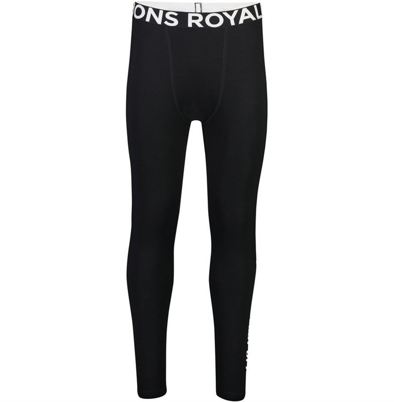 MONS ROYALE bielizna termoaktywn MONS ROYALE Double Barrel Legging Black 001)