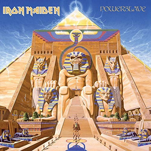 Iron Maiden Powerslave 2015 Remastered)