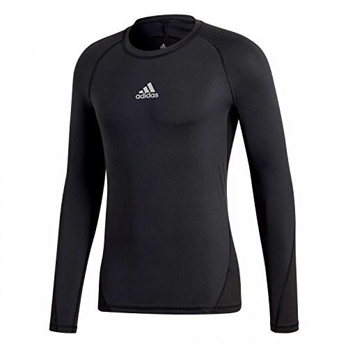 Adidas Alpha Skin Sport Training Shirt męski, czarny, M - 50 B07895SH3W