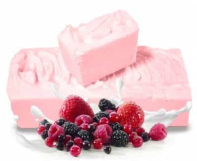 E-Fiore Balsam w bloku do masażu Shea jogurtowy z owocami lasu 700g E-Fiore