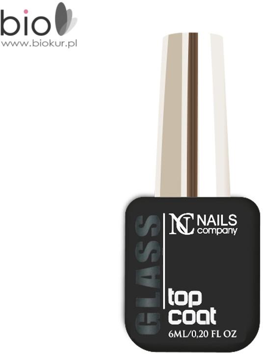 Nails Company GLASS TOP COAT 6 ml GLASS TOP COAT 6ml