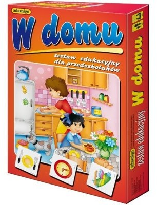 Adamigo W domu - zestaw edukacyjny - 5253
