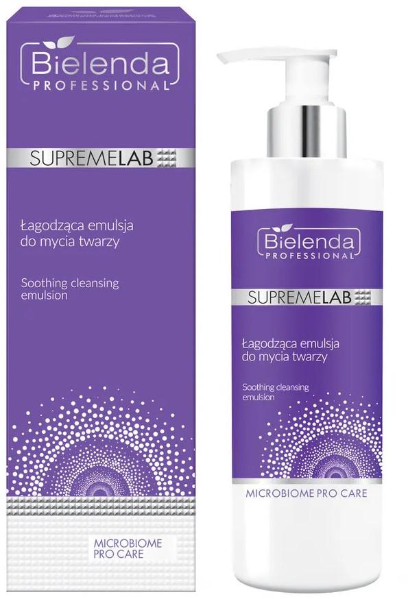 Bielenda SupremeLab Supremelab Microbiome Pro Care - Łagodzą Emulsja Do Mycia Twarzy 175G 5902169046651