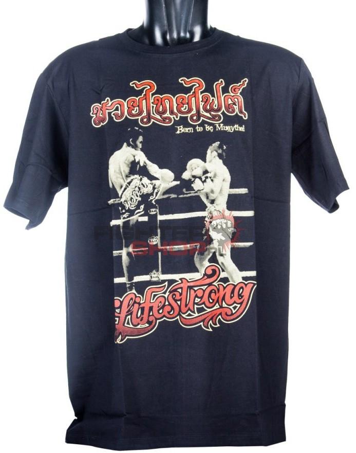 Born to be Muay Thai T-shirt męski FIGHT Born to be Muay Thai