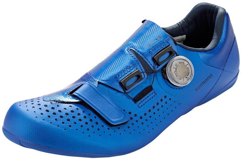 Shimano SH-RC500 Buty, blue EU 42 2020 Buty szosowe zatrzaskowe ESHRC500MCB01S42000