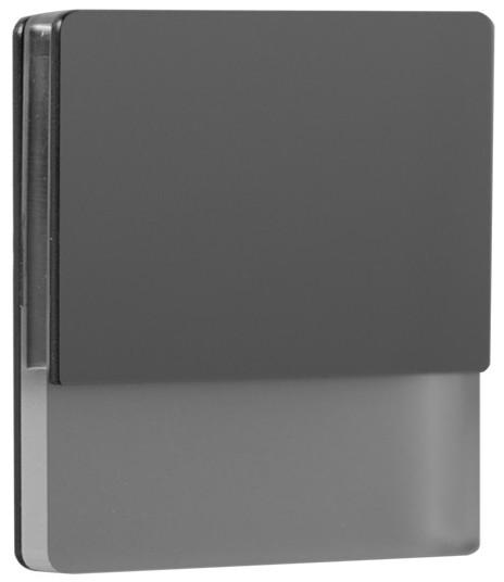 LDST LDST DA-01-CB-BZ5 - LED Oświetenie schodowe DAISY 5xLED/1,2W/230V błyszczący czarny