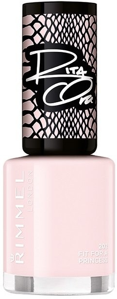 Rimmel Rita Ora, lakier do paznokci 202 Fit For A Princess, 8 ml