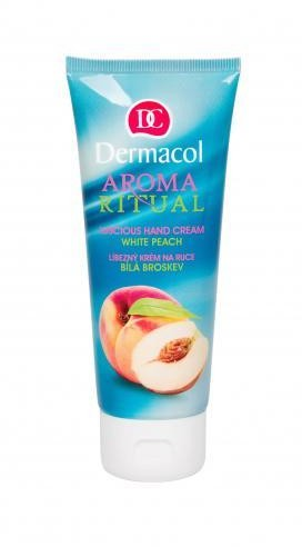 Dermacol Aroma Ritual White Peach krem do rąk 100ml