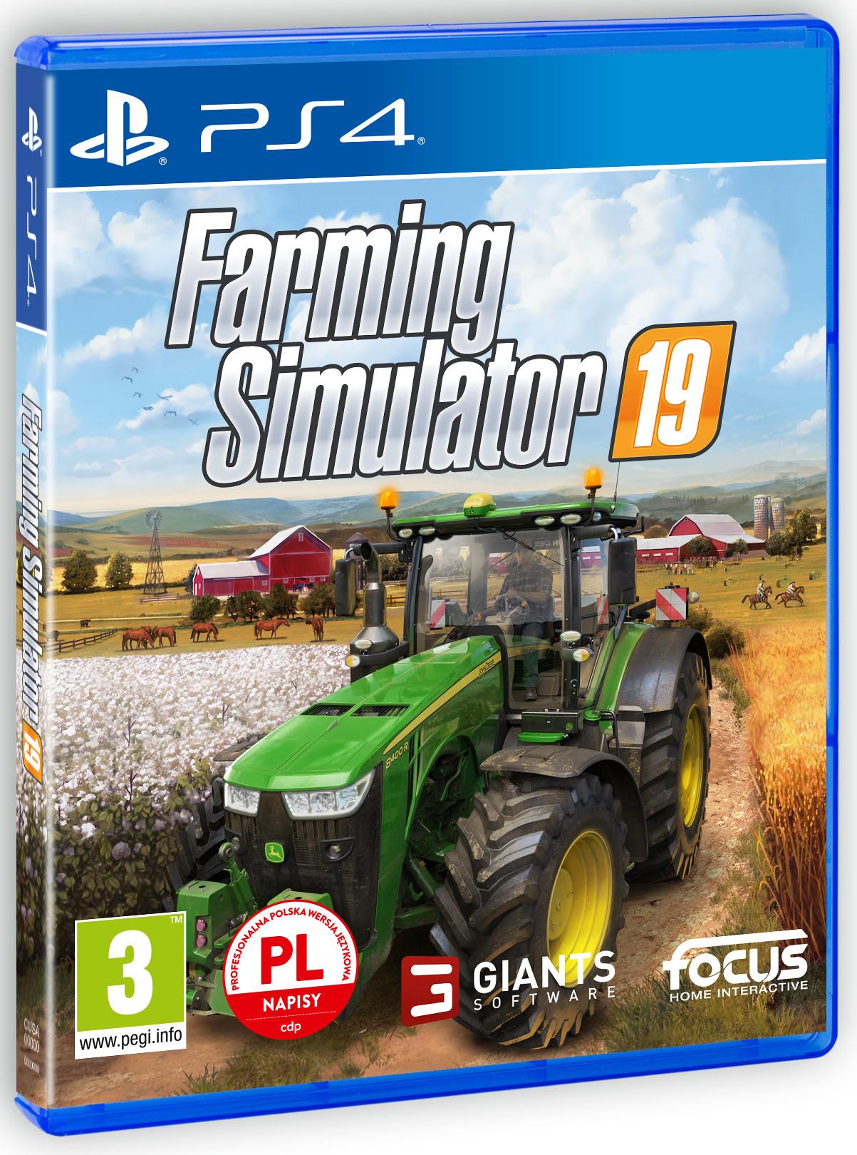 Farming Simulator 19 (GRA PS4)