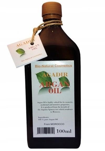 Olejek Arganowy 500 ml Maroko Olej na zmarszczki !
