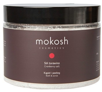 MOKOSH Mokosh, sól, żurawina, 600g MOK000067