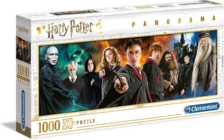 Clementoni Puzzle 1000 elementów Panorama Harry Potter 61883 727862