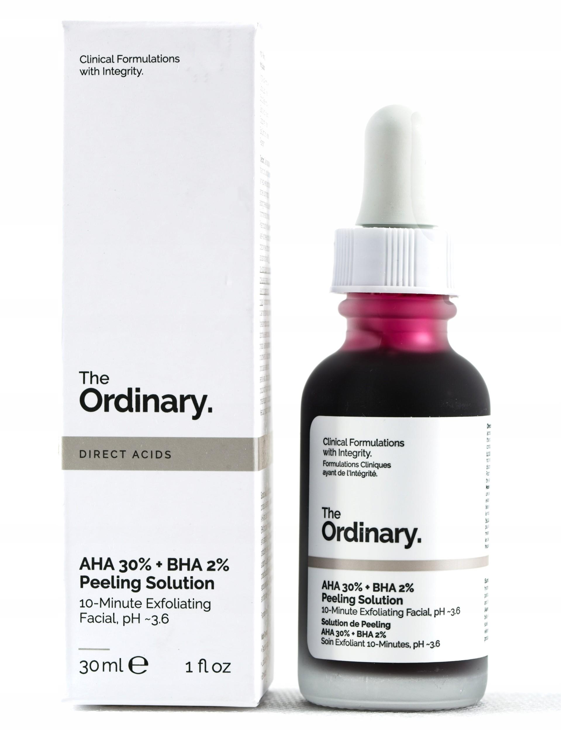 The Ordinary Aha 30%+BHA 2% Peeling Solution