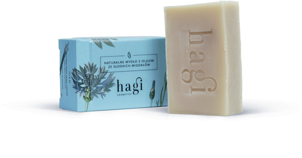 Hagi Cosmetics Hagi mydło z olejem ze słodkich migdałów 100 g