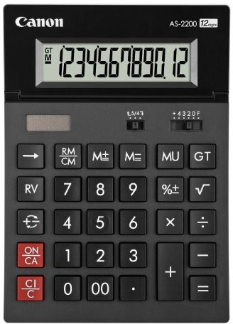 Canon AS-2200 kalkulator 4960999673646