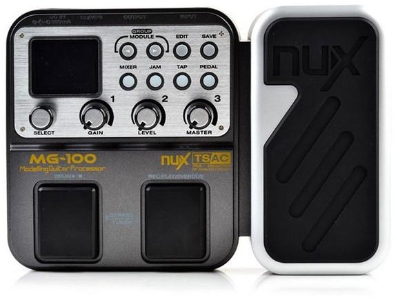 NUX NUX MG-100 - Multiefekt gitarowy