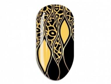 Nail Art Mollon Pro Stikers Mollon Pro F085G naklejki do zdobienia