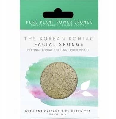 Konjac Sponge z zieloną herbatą oczyszczająca