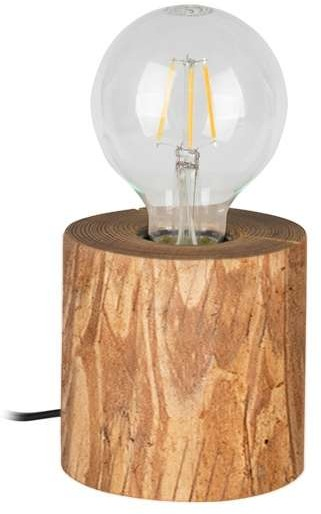 Spotlight Drewniana LAMPA stołowa TRABO TABLE 76911150 ekologiczna LAMPKA biurkowa rustykalna townshend sosna 76911150